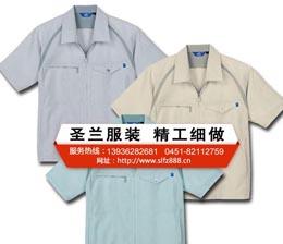 哈尔滨短袖工作服定做工厂